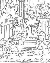 Resultado de imagen para nacimiento de jesus para colorear