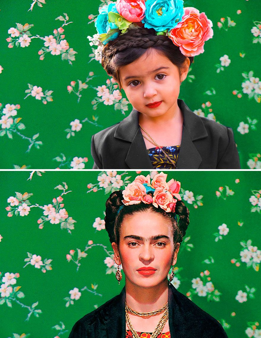 3YearOld Girl Dresses Up as Strong Female Role Models in