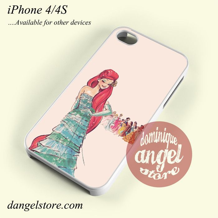 Ariel The Little Mermaid Disney Princess Yp Phone Case for iPhone 4/4s and Another iPhone Devices