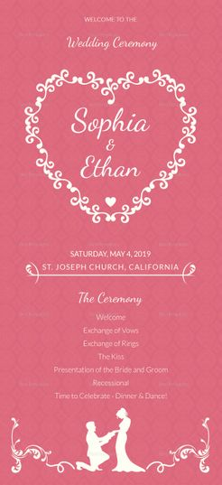 Simple Wedding Invitation Card Template Pinterest Wedding - Simple wedding card template