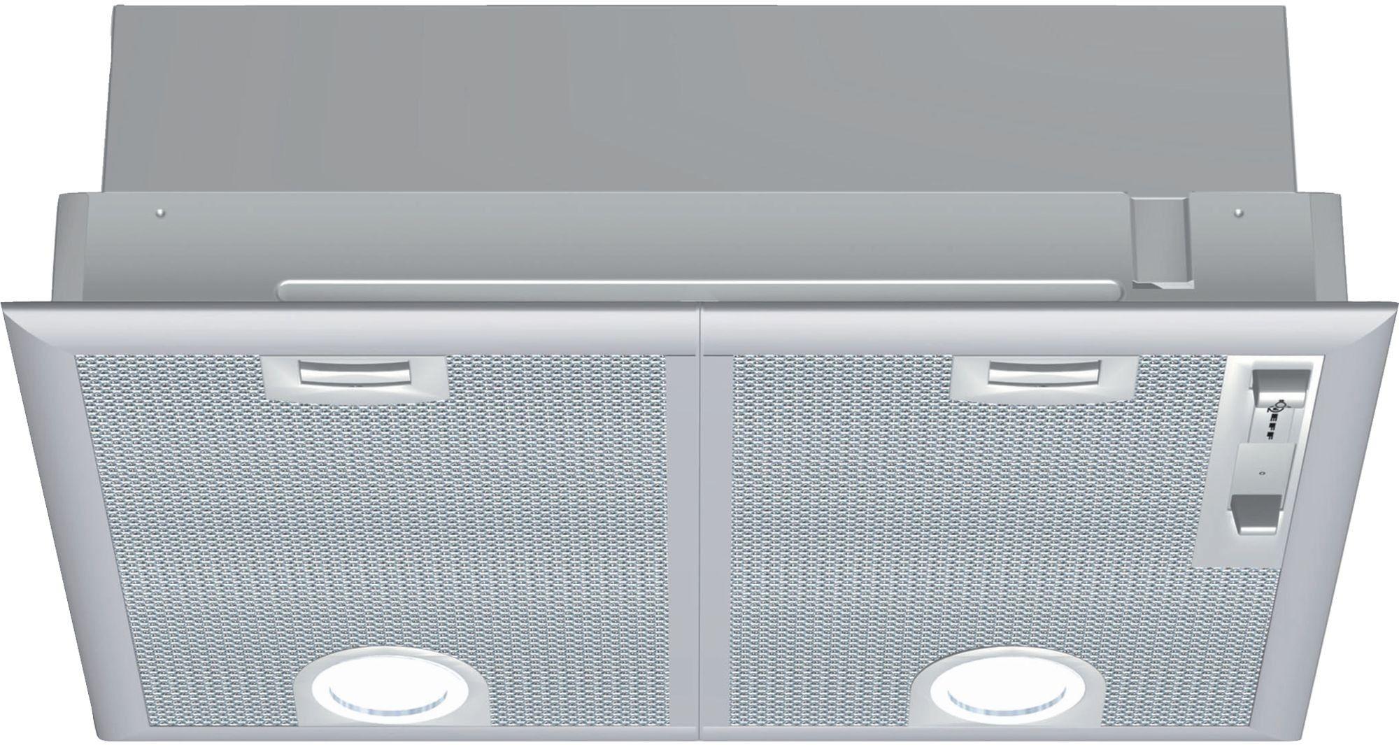Neff D5655x1gb 53cm Canopy Hood Silver Stainless Range Hood