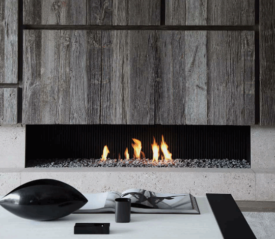 Reclaimed Barn Wood Fireplace Surround For Den :: FIREPLACES :: Lovely  Fireplace Surround Detail, The Texture Of Aged Planks U0026 Stone.