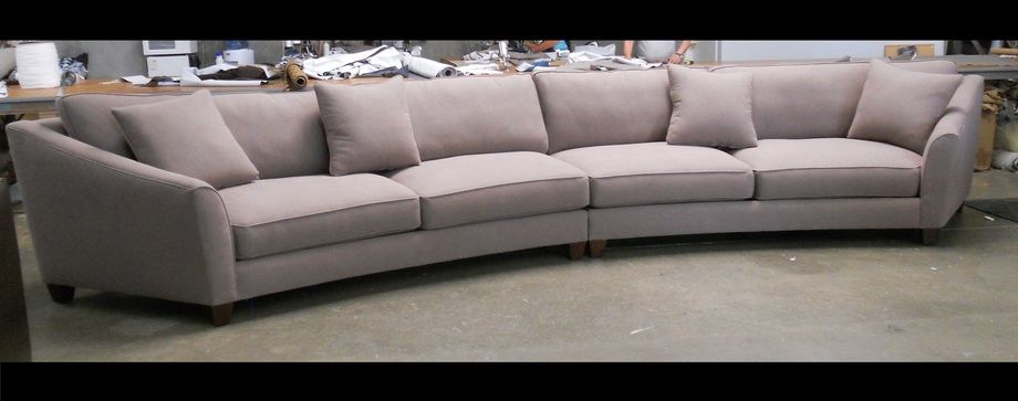 large round curved sofa sectional | Curved Sectional Sofa ...