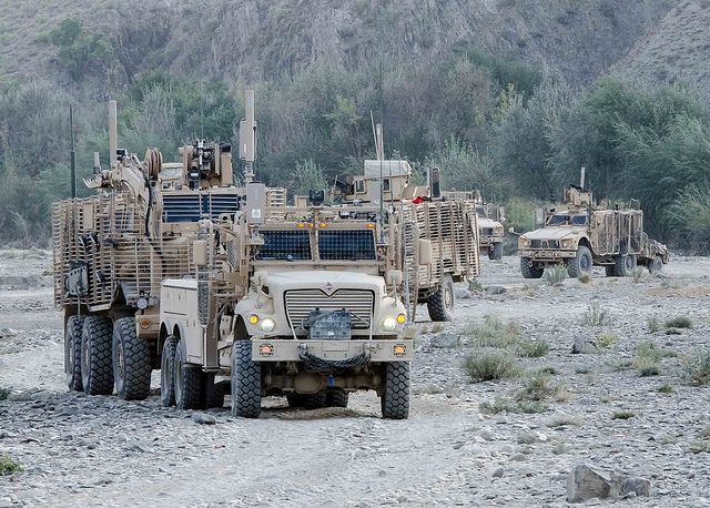 Blazing Trails U S Army Route Clearance Paves The Way Army United States Military Military
