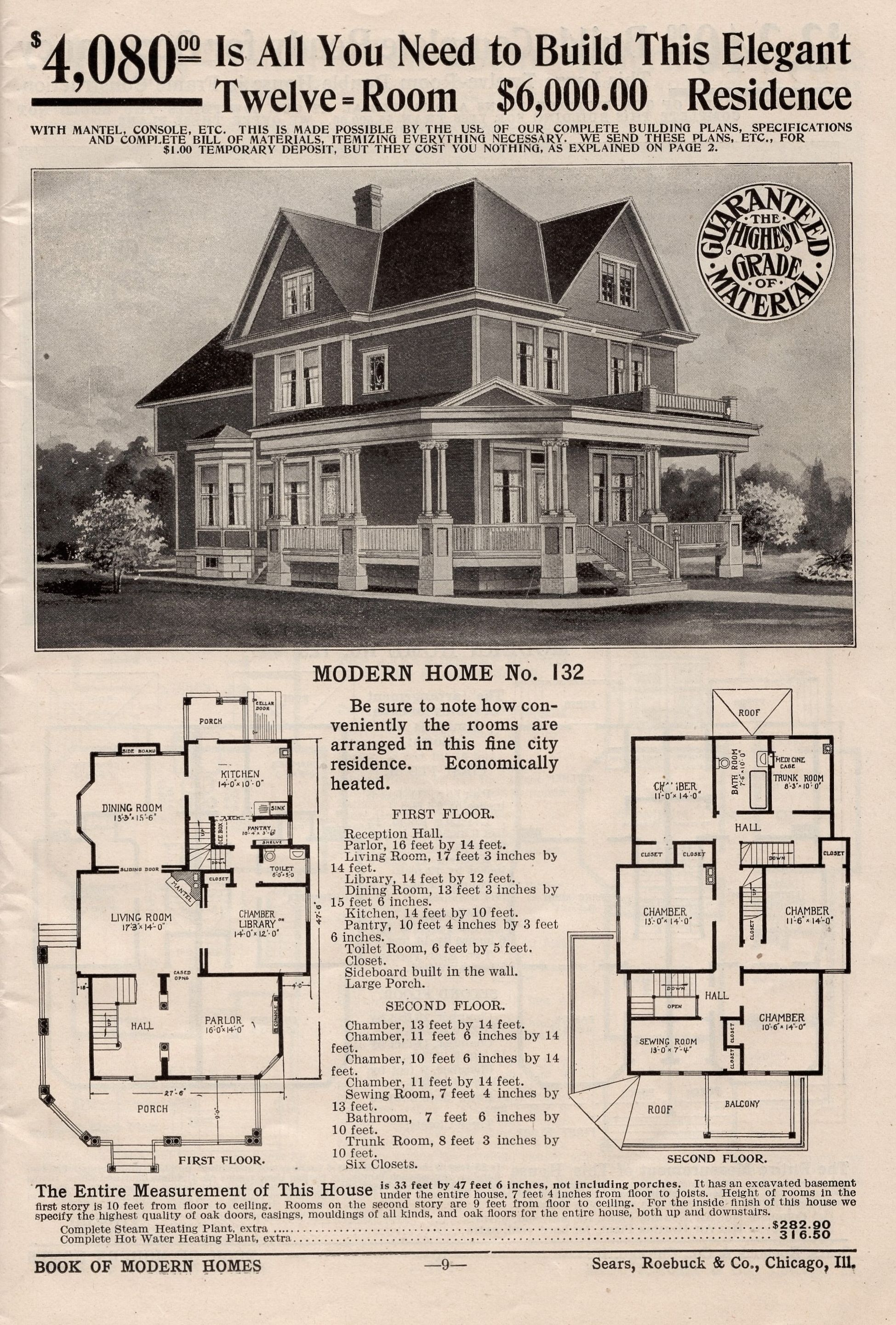 The Earliest Sears House Maybe Maybe Not Victorian House Plans Vintage House Plans House Plans