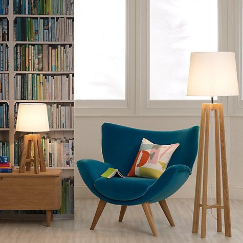 Adriana Floor Lamp   Floor lamp, John lewis and Living rooms