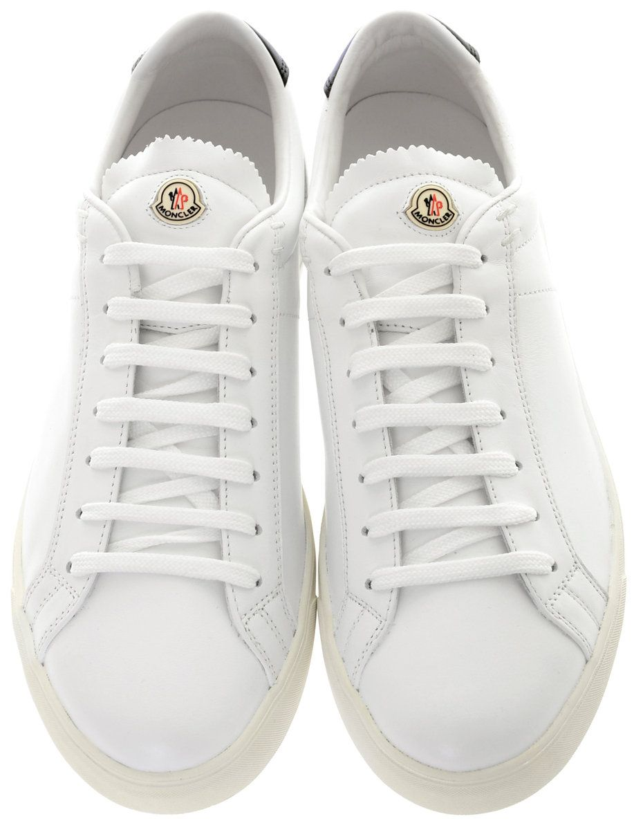 Moncler La Monaco - White Navy   Stuff to Buy   Pinterest   Shoes ... 51f3fda63fd