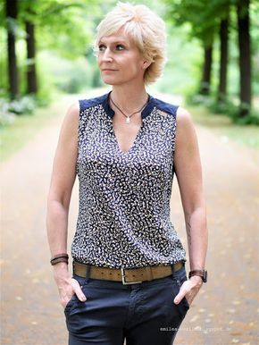 Photo of emilea: Ina camicetta estiva con motivo berlinese