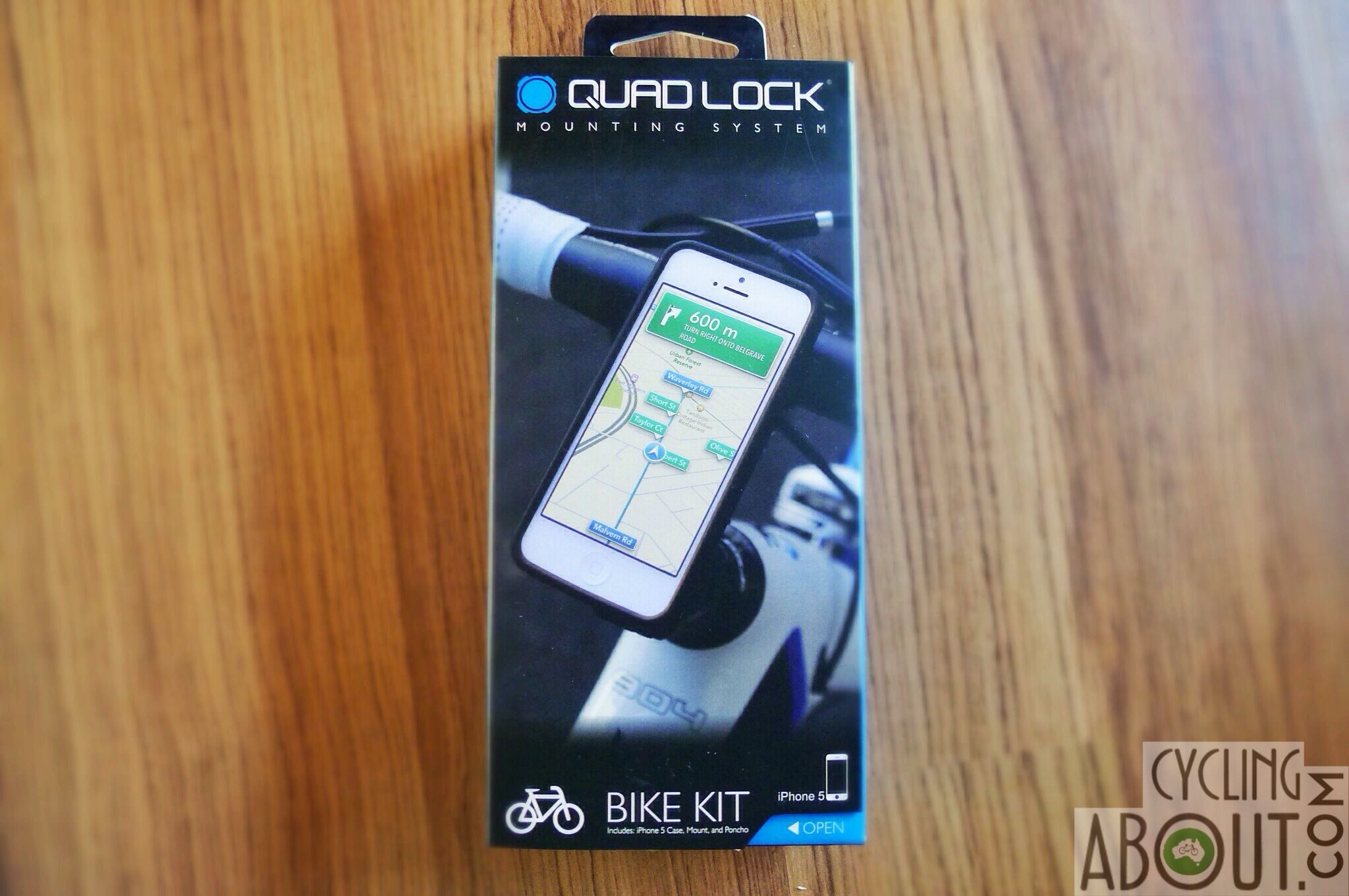 Review Quad Lock Smartphone Mounting System Cyclingabout