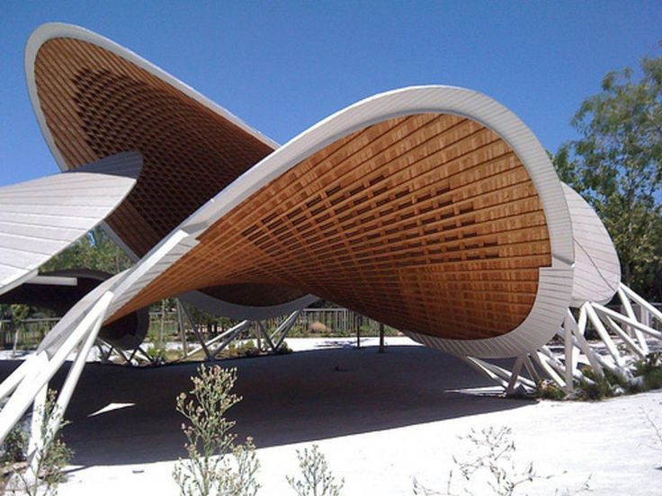 Paraboloide hiperbolico plegable cerca amb google arq pinterest google arquitectura y bamb - Casa de bambu madrid ...