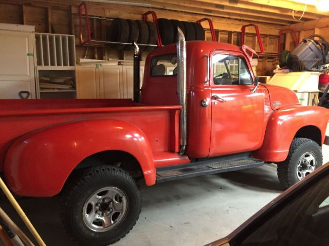 1950 GMC Pick Up 4X4 on 1977 Truck 1500 frame Auto- | classic cars ...