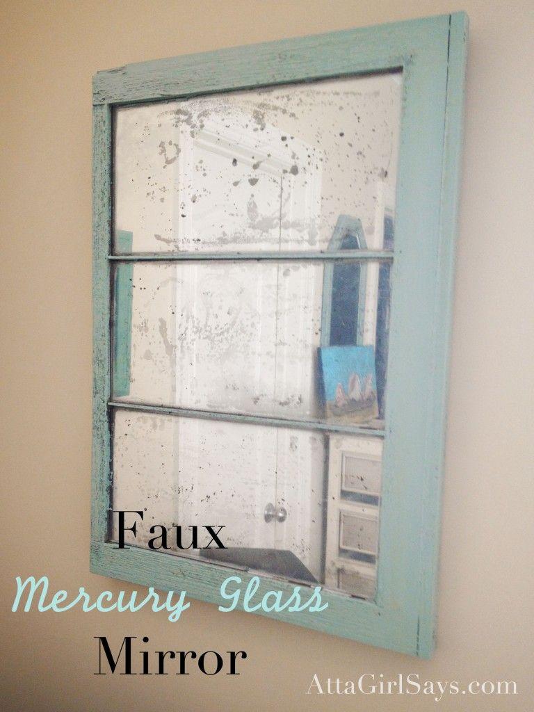 Diy Mercury Glass Mirror Mercury Glass Mirror Mercury Glass Diy Diy Mirror