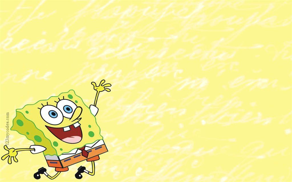 Color Cute Spongebob Ppt Background Pictures Background Powerpoint Spongebob Background Background Ppt