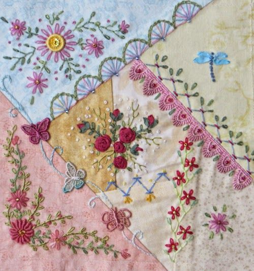 Linda Steele Quilt Blog | Crazy Quilts | Pinterest | Crazy ... : crazy quilt blogs - Adamdwight.com
