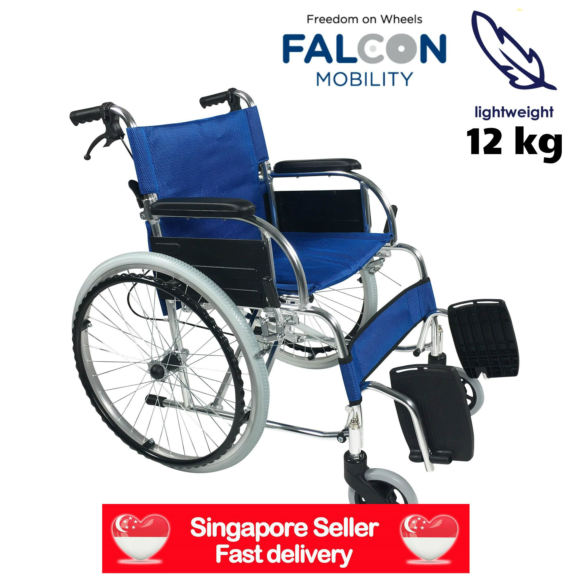 Finally, our Falcon Aluminium Wheelchair is back in stock