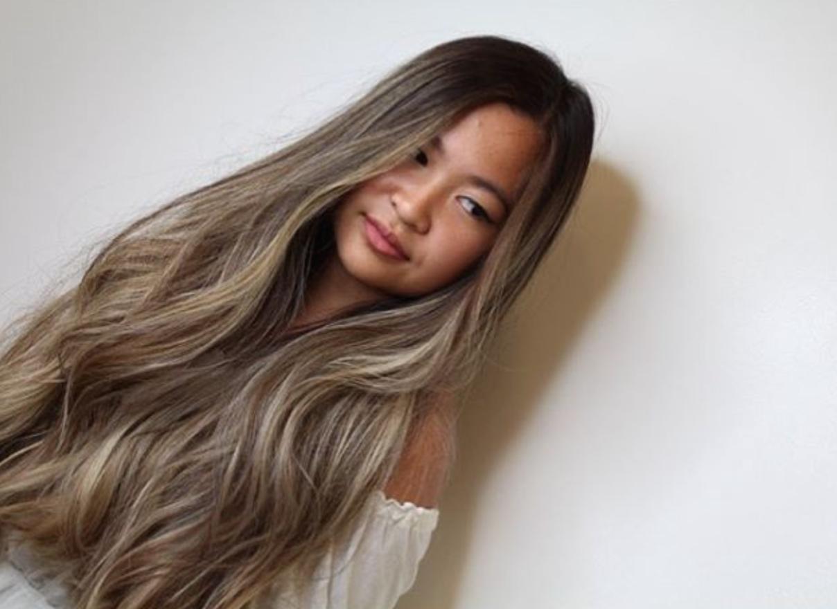 balayage on asian hair ash brown pin by aye mee on ash brown balayage in 2019 brown hair
