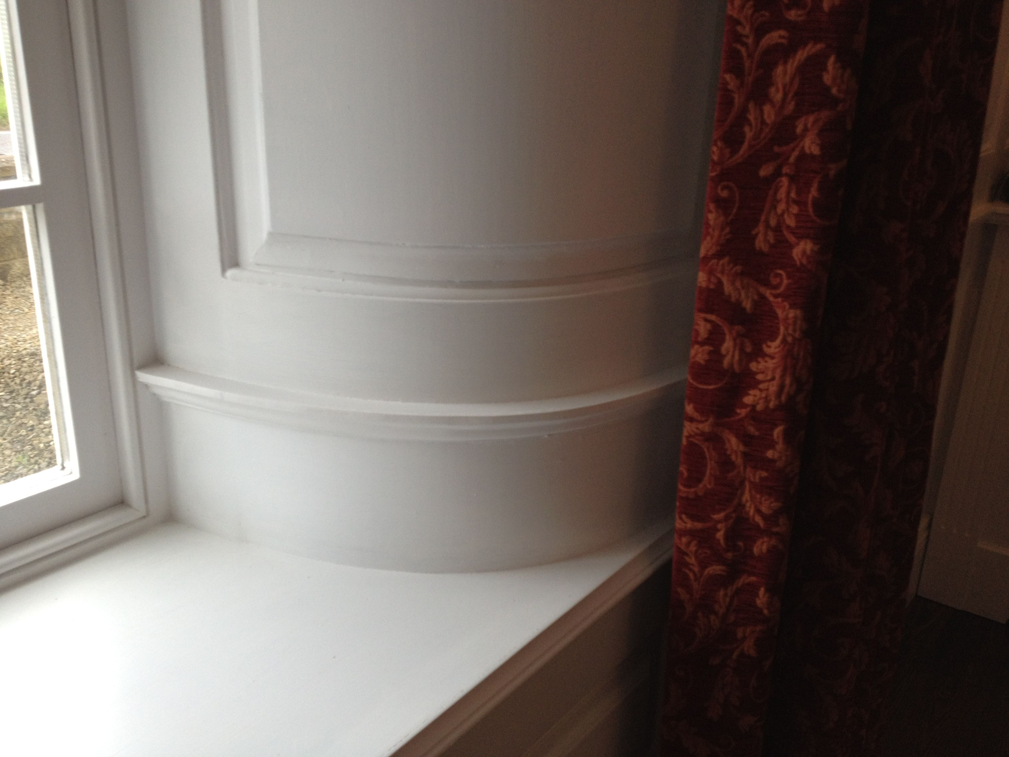 curved wall panelling