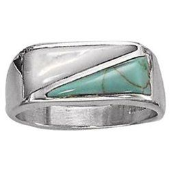 Men's Turquoise #Ring