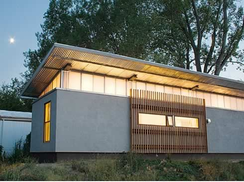 ravishing tiny trailer house. re fab vs prefab trailerwrap 5 TrailerWrap  Trailer Transformed into Ravishing Home house i love Pinterest Prefab Container plans and House