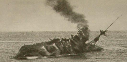 Come affonda una nave