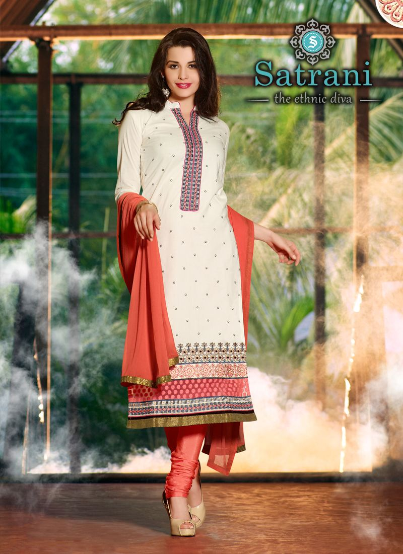 Charming Salwar Suits For Ethnic Collection(237D)  Please visit below link http://www.satrani.com/salwar-suits&catalog=570  For more queries,  email id: inquiry@satrani.com Contact no.: 09737746888(whats app available)