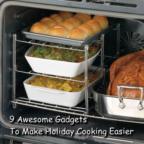 9 Awesome Gadgets To Make Holiday Cooking Easier (Click Photo) / - -Bookmark Your…