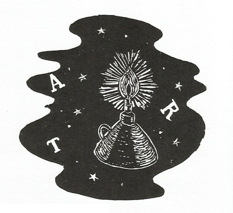 """ilustração em xilogravura, de Chico Barbosa, para o livro """"Coivara"""", de Mario Cesar."""