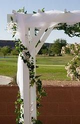 Wedding Arch Decoration Tulle Ideas For Decorating A