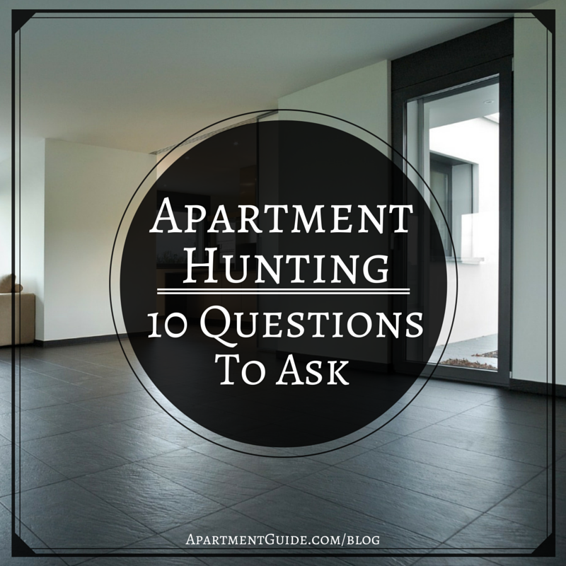 13 Questions to Ask When Renting an Apartment | ApartmentGuide.com