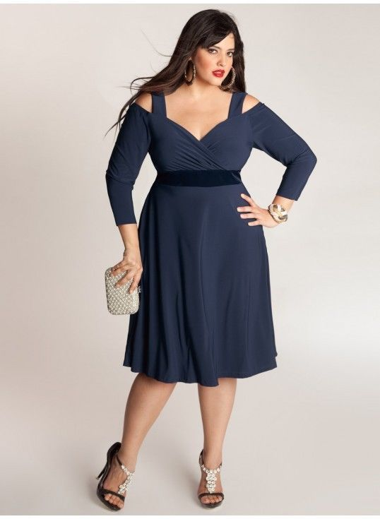 Is A Blue Plus Size 2x Cocktail Dress On Your Shopping List Not
