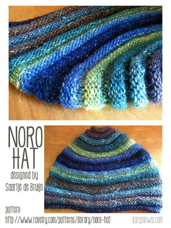Noro Hat In Silk Garden Knitting Knitting Patterns