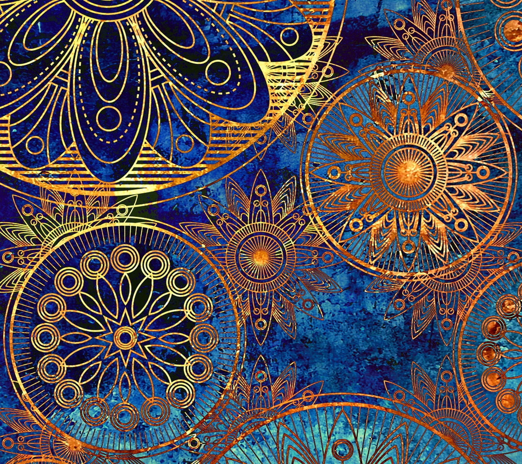 Mandala tap to see more flower pattern wallpapers