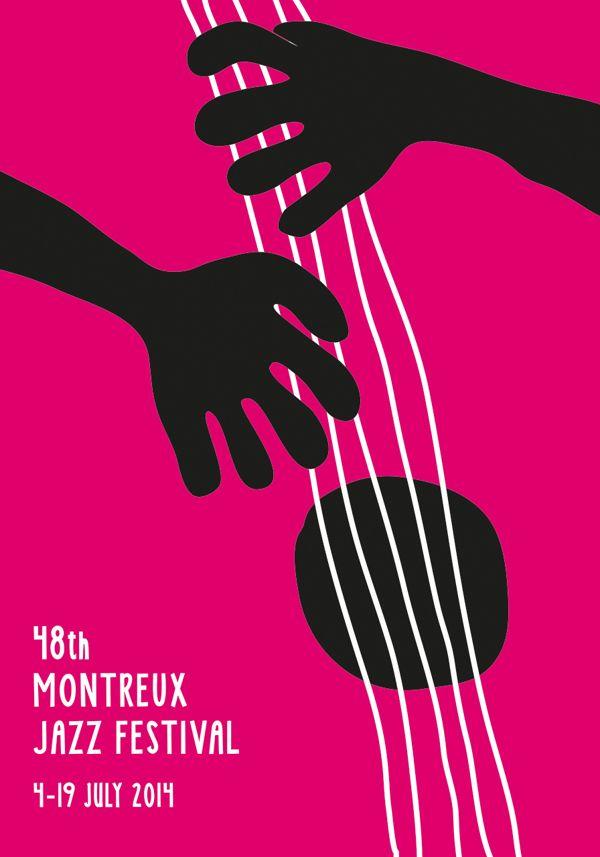 Montreux Jazz Festival Poster / Grafist 17