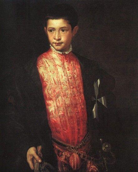 Titian - Ranuccio Farnese