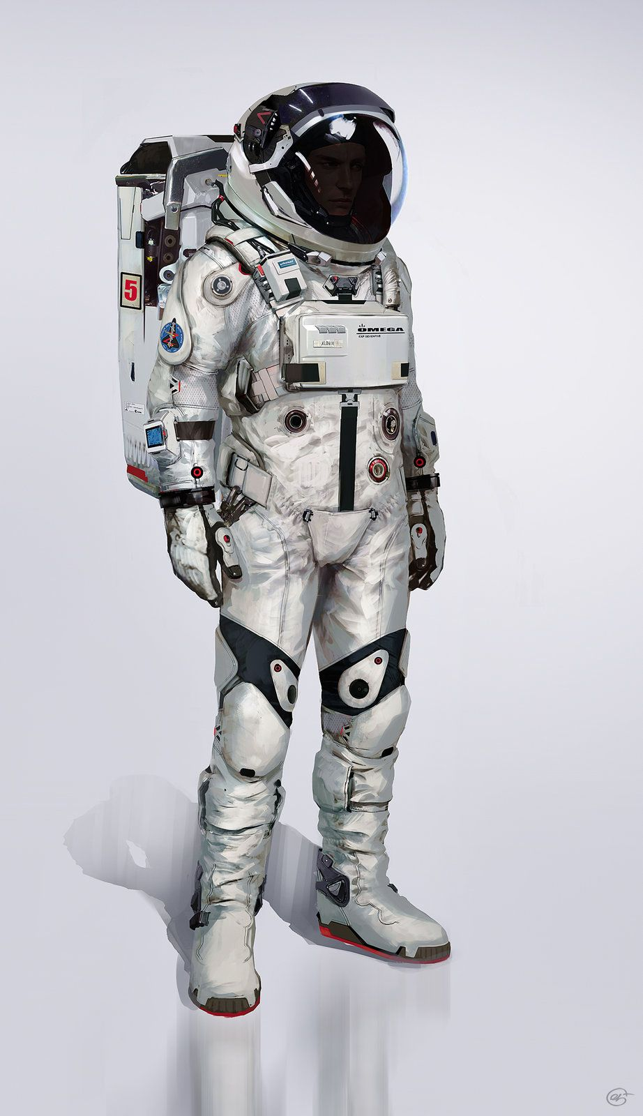 "Spacesuit Final, Jose Afonso ""eSkwaad"" on ArtStation at ..."