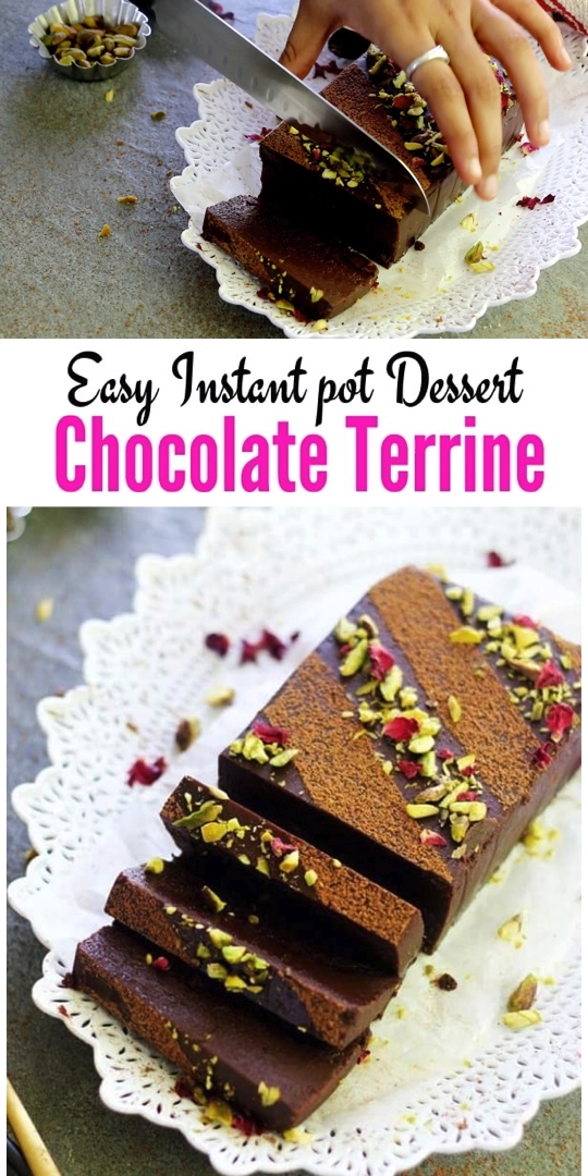 Instant Pot Chocolate Terrine