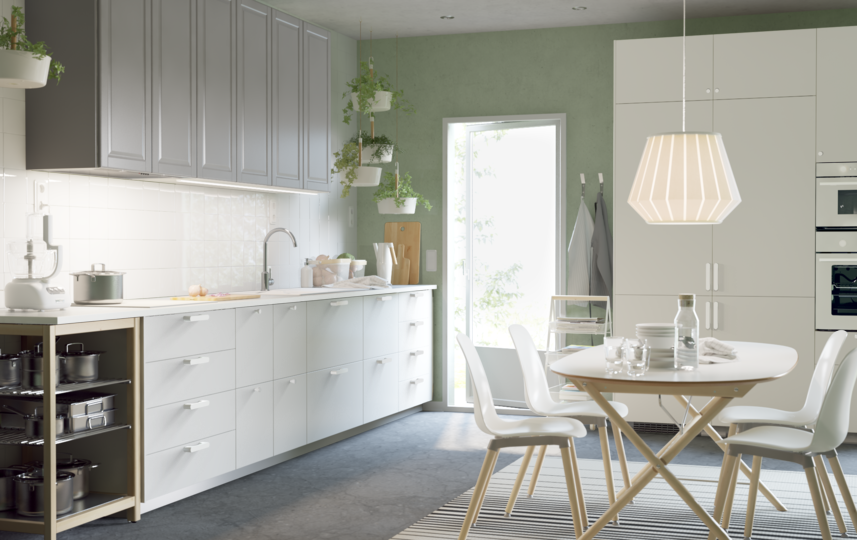 Nordisch kühl und schlicht - IKEA