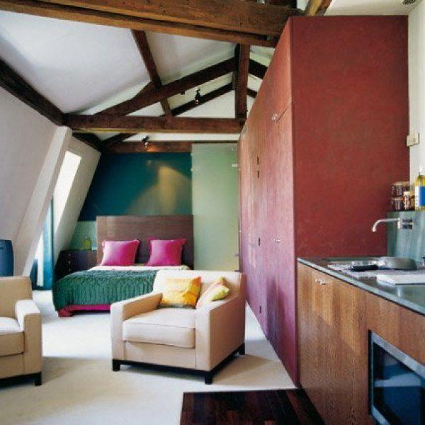 salon cuisine ouverte 30m2 - Recherche Google couleur Pinterest - amenager une cuisine ouverte