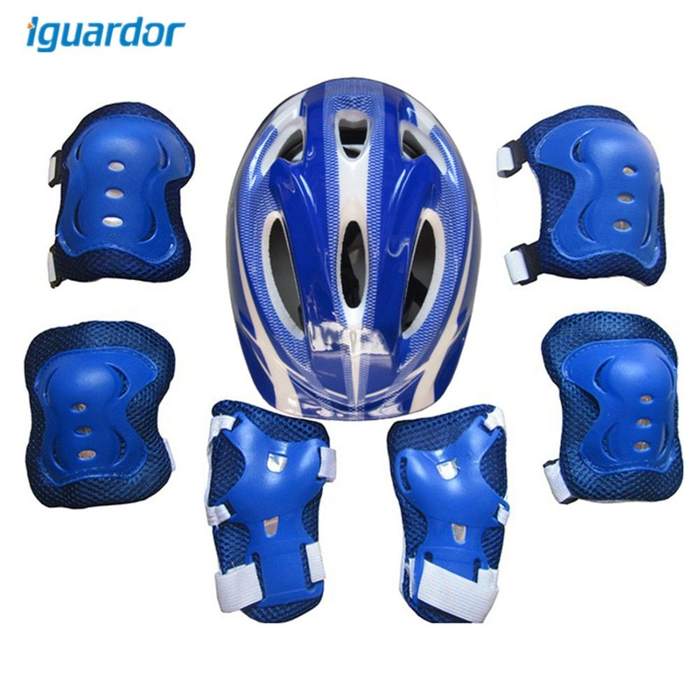 Set of 7 Pieces Ice Skating Protective Gear Sports Safety