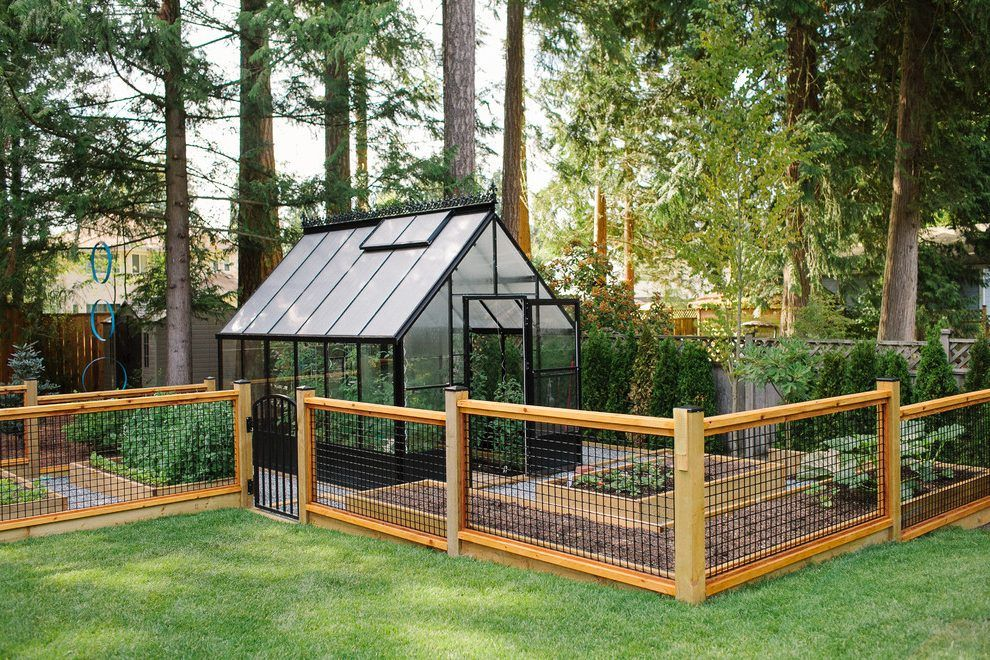 Vancouver Vegetable Garden Fence With Modern Sheds Shed Contemporary And  Greenhouse Trees