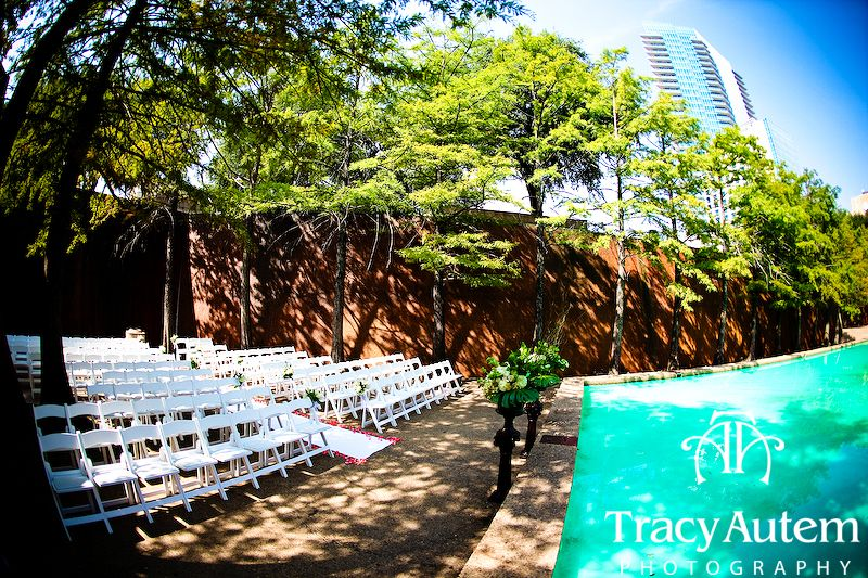 The quiet garden fort worth water gardens wedding - Fort worth water gardens wedding ...
