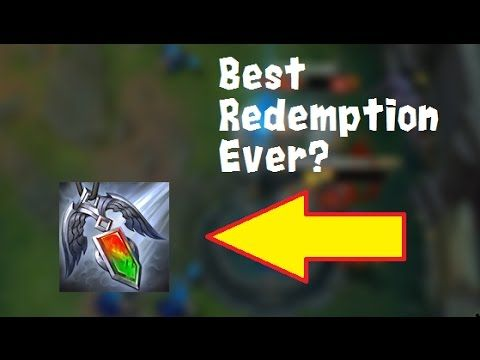 It's no pro play but I thought I'd share one good redemption. https://www.youtube.com/watch?v=0aZybyM5PvA #games #LeagueOfLegends #esports #lol #riot #Worlds #gaming