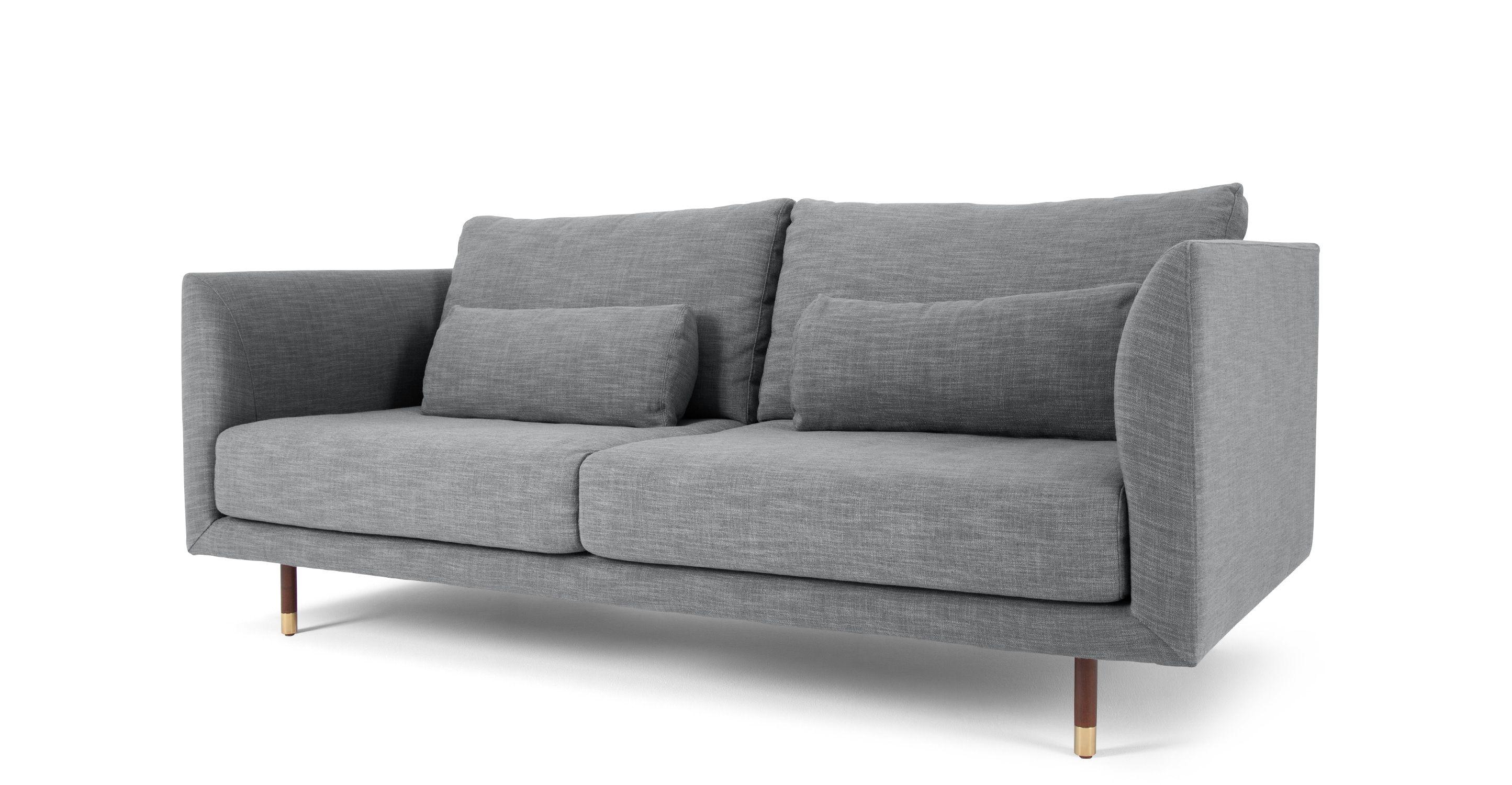 Jules 2 Sitzer Sofa Alpengrau MADE Jetzt bestellen unter