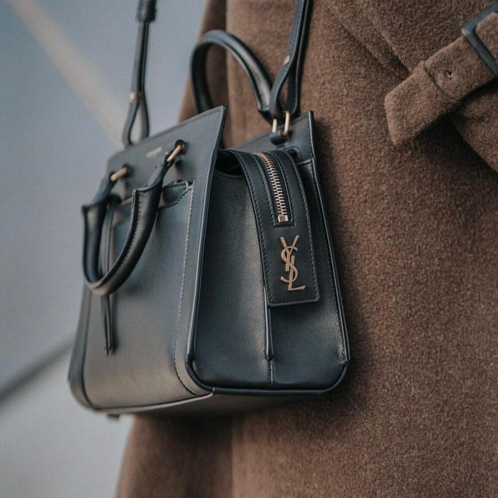 how to clean leather purse stain