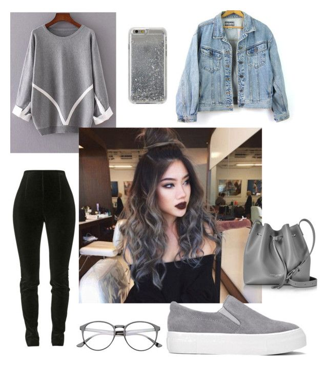 """""""☃️☃️☃️"""" by ruby-eliza-lewis ❤ liked on Polyvore featuring Balmain, Lancaster and Agent 18"""