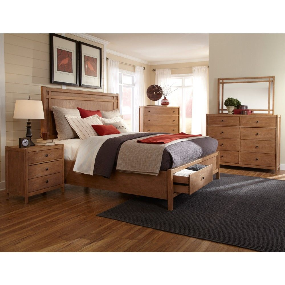 Best American Woodcrafters Natural Elements Bedroom Furniture 400 x 300