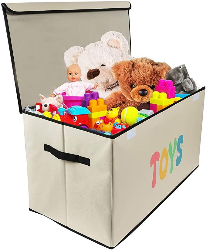 amazon woffit toy storage organizer chest for kids
