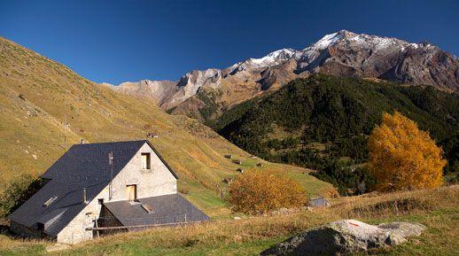 Refugio de Biados en los pirineos