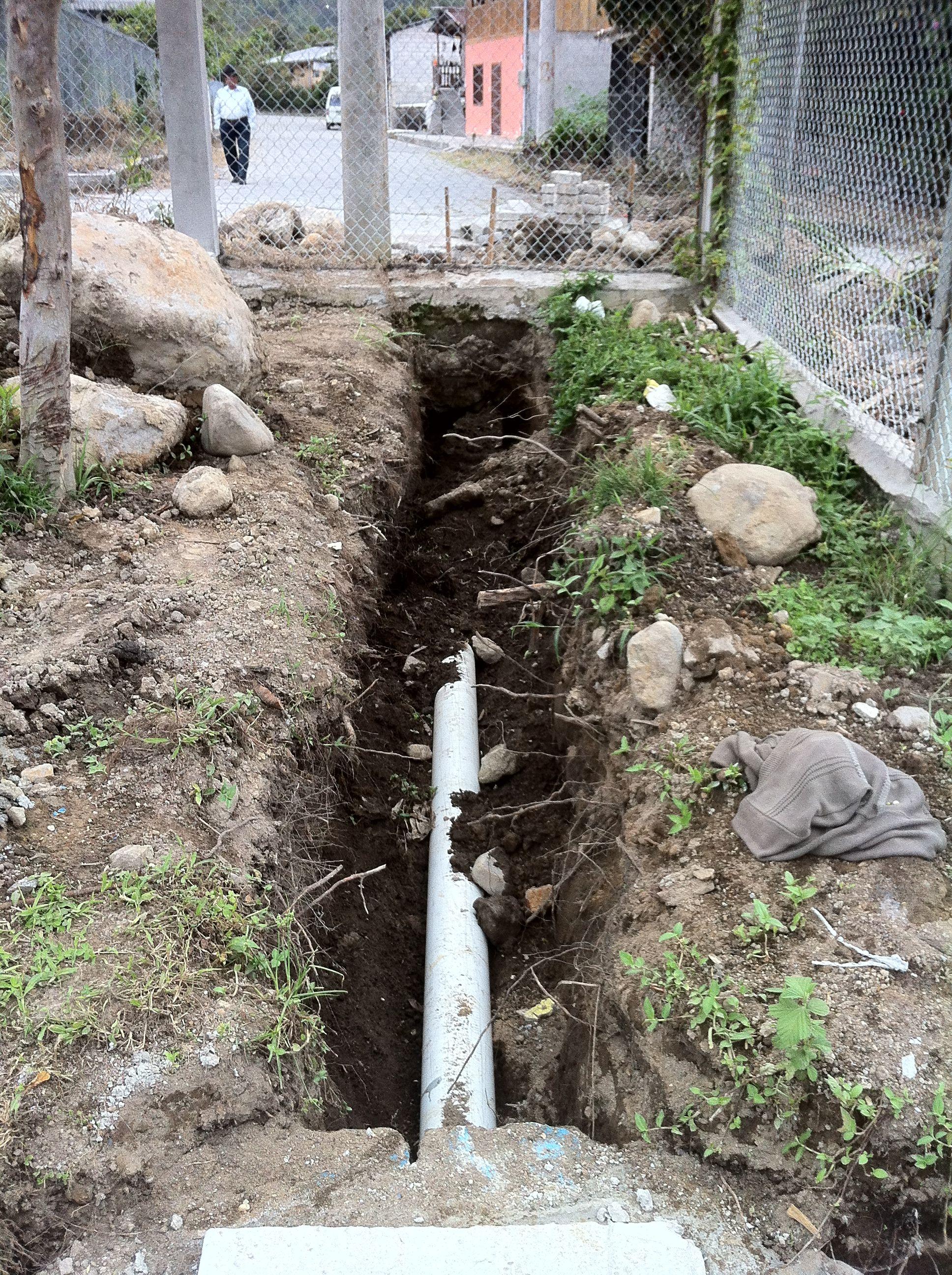 fixing the drainage problem | Backyard drainage, Backyard ...
