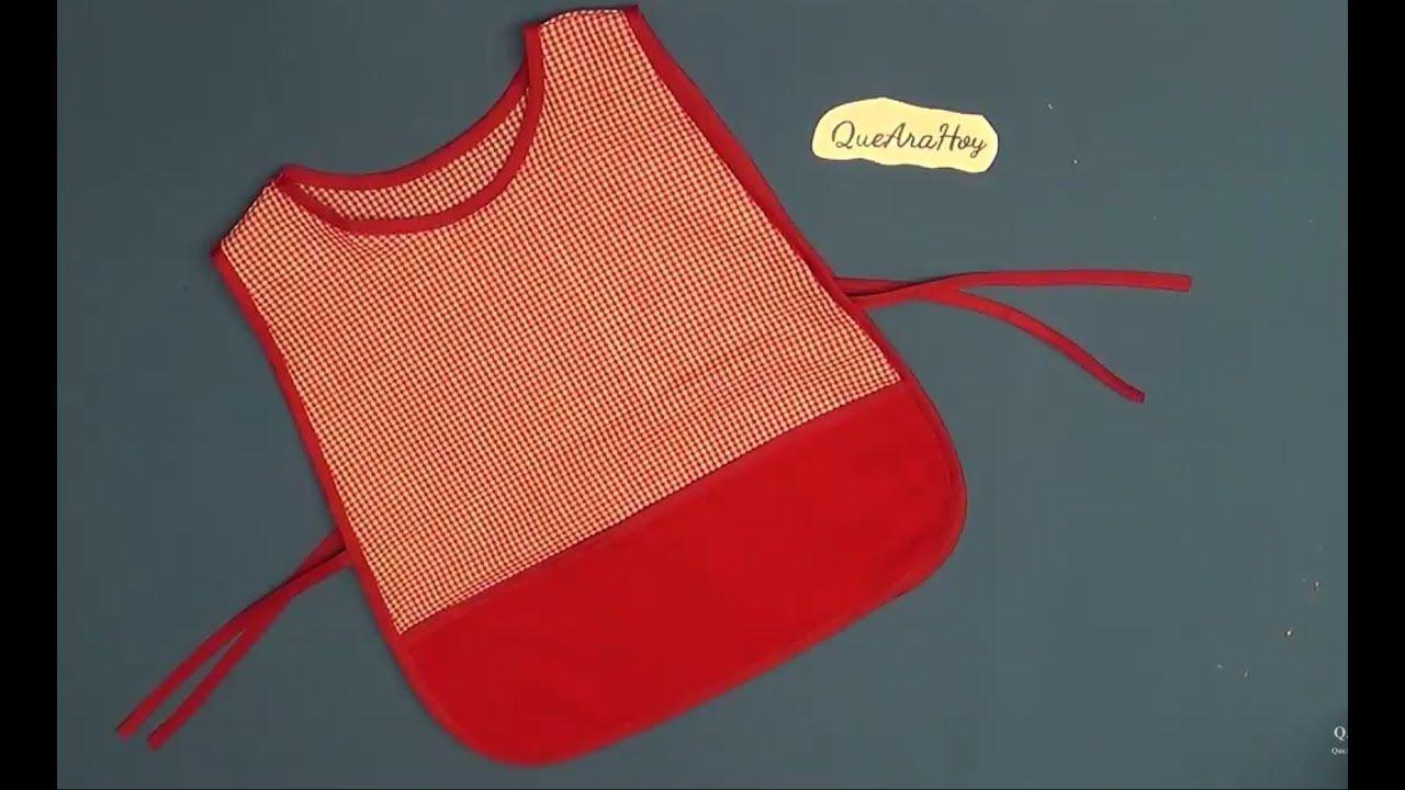 Como Hacer Mandil Para Kinder Clase 85 Alta Costura Para